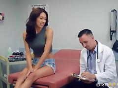 Kara Faux gets licked and pounded and screams from all the pleasure