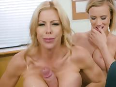Premium cock sharing between Alexis Fawx and Bailey Brooke