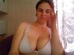 Webcam big boobs and areolas 11