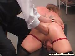 My Sexy Piercings Slave with fist up her ass