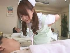 Curious nurse tied up and ravished like never before