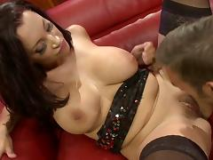 Stunning Porcha Sins sucks and fucks stud like a pro