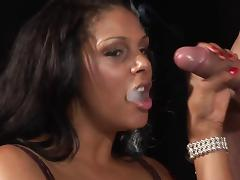 Smoking, Interracial, Nylon, Penis, Smoking, Cigarette