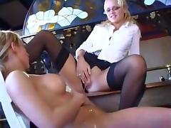 Girlfriends peeing golden piss on each other 2