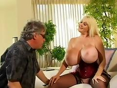 Crazy pornstar Kayla Kleevage in amazing big tits, blonde xxx scene