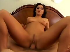Hottest pornstar Sandra Romain in incredible brunette, anal sex movie