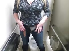 Big boobs public