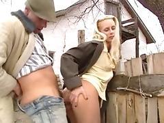 Incredible pornstar Julia Swen in crazy outdoor, cumshots adult clip