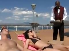 Big Black Cock, Boat, Couple, Interracial, Yacht, Big Black Cock
