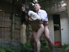 Japanese, Asian, Japanese, Mature, Old, Outdoor
