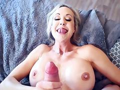 All, Big Tits, Blonde, Blowjob, Cumshot, HD