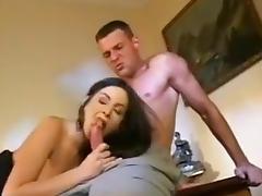 Slutty neighbor eager for anal