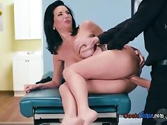 All, Brunette, Doctor, Fingering, Hardcore, Mature