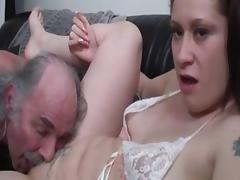 Best pornstar in crazy cunnilingus, brunette sex video