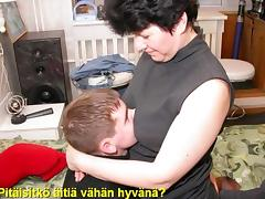 Russian, Finnish, Mature, Mom, Russian, Mother