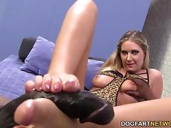 All, Blonde, Feet, Fetish, Footjob, Hardcore