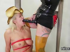 Slutty sweetie is taken in anal assylum for uninhibited ther