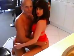 Rich couple doing webcam sex for fun