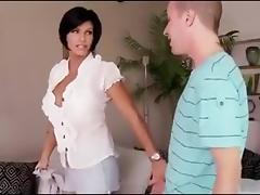 Mature Big Tits, Big Tits, Blowjob, Boobs, Brunette, Mature