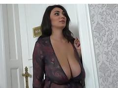 Big boobs hotel room