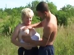 Grandma, BBW, Big Tits, Boobs, Fucking, Granny