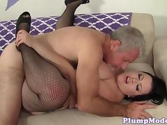 Massivetits tattooed bbw pounded in her cunt