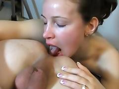 European, Amateur, Ass Licking, Brunette, European, German