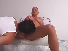 Fabulous pornstar Calli Cox in crazy cunnilingus, facial adult clip