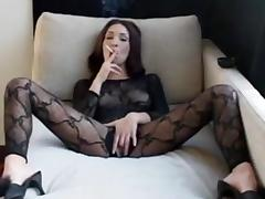 Smoking masturbation
