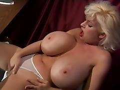 Hottest pornstar Sarenna Lee in crazy big tits, blonde sex video