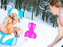 Rebecca Moore & Luke Hardy in Ski Bums Episode 2 - DigitalPlayground