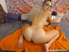 Nice Ass Teen Performing Her Live Webcam Show