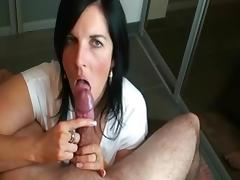 Exotic Homemade movie with MILF, Brunette scenes