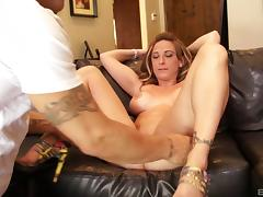 Alluring Serena Marcus cannot get enough of a man's prick