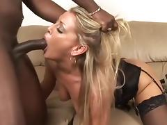 All, Blonde, Cumshot, Facial, Horny, Interracial