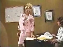 Wrestling, Catfight, Office, Stockings, Wrestling, Fight