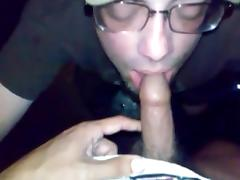 Drinking cum and piss
