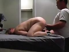 Curvy Blonde Bound and Fucked Between Spankings
