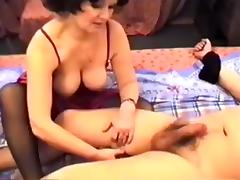 Exotic Amateur clip with Brunette, Stockings scenes