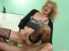 Exotic Amateur movie with Stockings, Anal scenes
