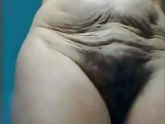 Old Lady, Amateur, Granny, Hairy, Mature, Old
