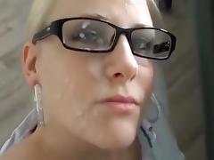 Facial, Amateur, Blonde, Compilation, Cumshot, Facial