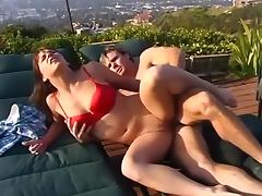 All, Boobs, Brunette, Facial, Outdoor, Pornstar