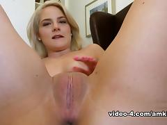 Audition, Audition, Blonde, Casting, Masturbation, Small Tits