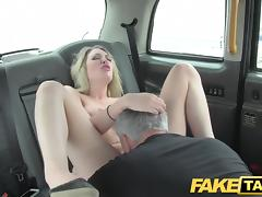 Car, Big Cock, Blonde, British, Car, Penis