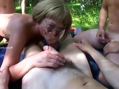 Exotic Amateur movie with Young/Old, Mature scenes