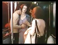 GangBang in Subway with Brigitte Lahaie