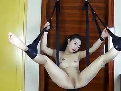 sex swing-Creampie