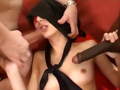 Horny Amateur clip with Facial, Toys scenes