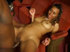 Crazy pornstar in best black and ebony, facial sex scene